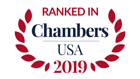Ranked in Chambers USA 2019