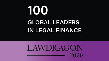100 Global Leaders in Legal Finance Lawdragon 2020